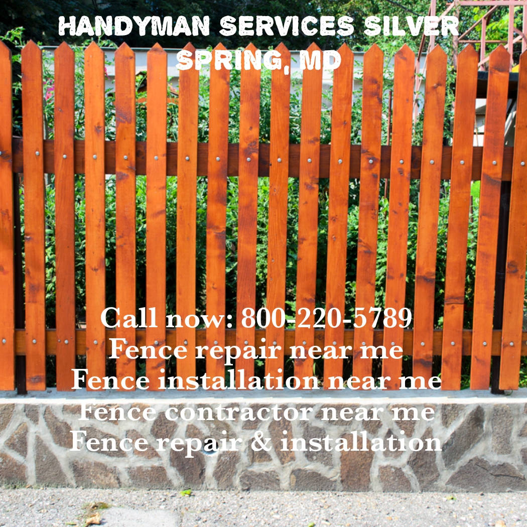 Repairing or installing fence has become so easy with fence repair or installation