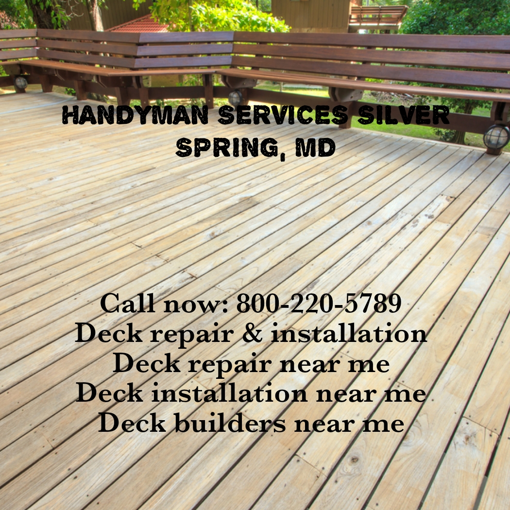 Why hire deck repair & installation service provider?