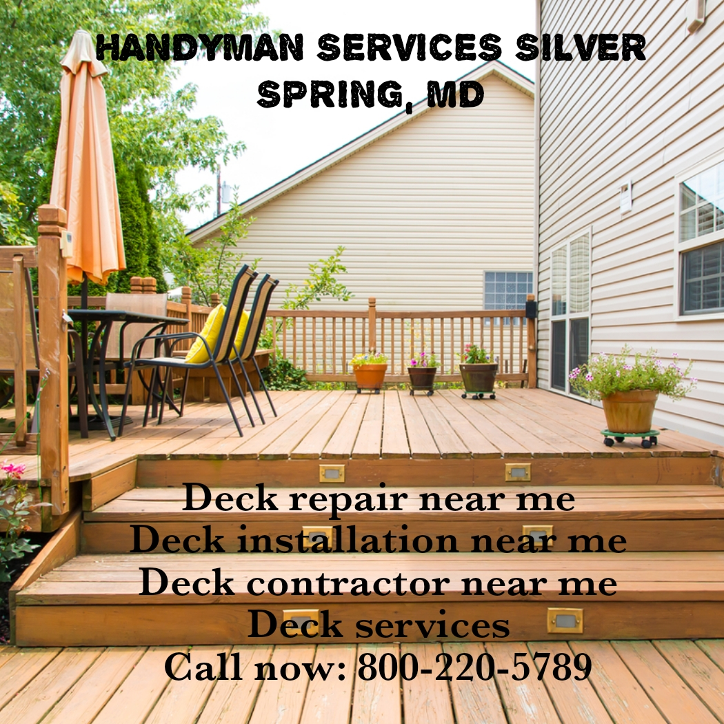 Is your outdoor deck or is worn out or broken?  Hire deck repair & installation service