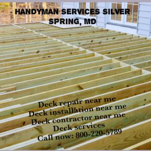 Deck repair & installation
