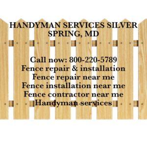 fence repair & installation
