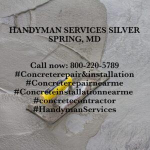 concrete repair & installation